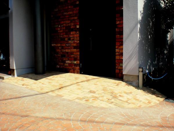 バリアフリー 海南市 玄関ステップ改修工事1