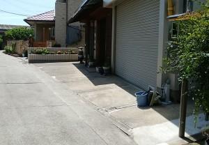 アプローチ・土間コンクリート リフォーム工事 和歌山市5
