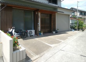 アプローチ・土間コンクリート リフォーム工事 和歌山市2