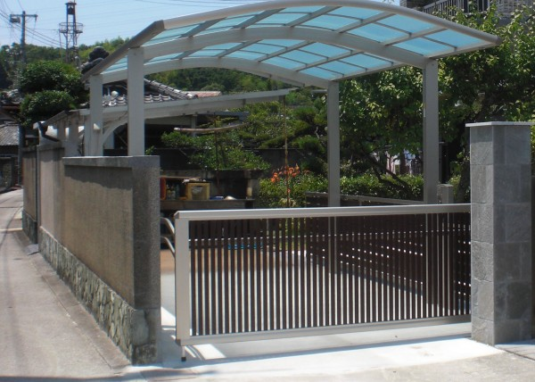 駐車スペース改修工事 紀の川市4