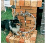 愛犬のシャンプーに。シャワープレイス スタンドタイプ 日本興業(株)