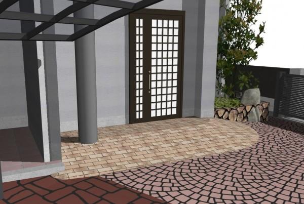 バリアフリー 海南市 玄関ステップ改修工事4