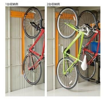 タクボ物置 ちょっと気になるオプション6 自転車収納ラック1
