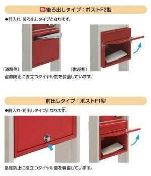 ポスティモα YKK 郵便受け4