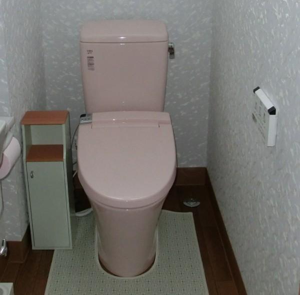 トイレ リフォーム LIXIL アメージュZ 岩出市4
