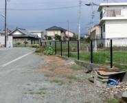 境界フェンス工事 積水樹脂G10 H1000