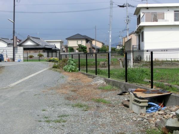 境界フェンス工事 積水樹脂G10 H10001