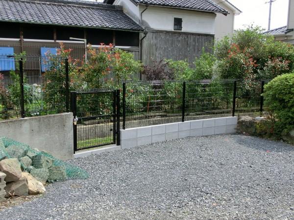 境界フェンス工事 積水樹脂G10 H10004