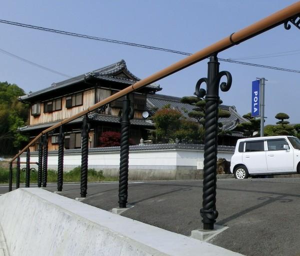 おしゃれな飾り支柱A型 三協アルミ エトランポ3型1