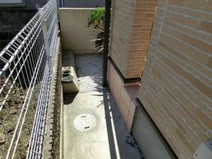 アプローチ改修工事 樹脂舗装からタイル貼りへ 紀の川市 6