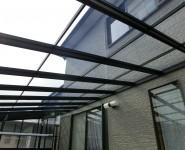 テラス屋根材貼り替え工事 紀の川市