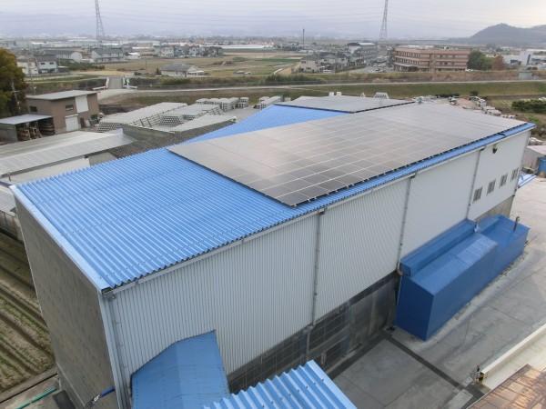 ソーラーフロンティア 太陽光発電システム 和歌山1