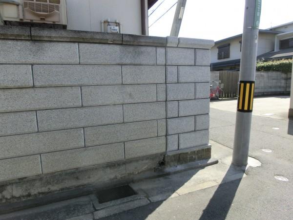 和風化粧ブロック TOYO 大谷600型 ミカゲ 浮彫ビシャン 和歌山市7