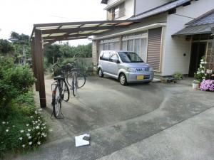 駐車スペース拡張工事 桃山町3