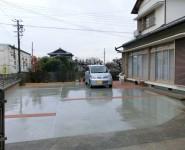 駐車スペース拡張工事 桃山町