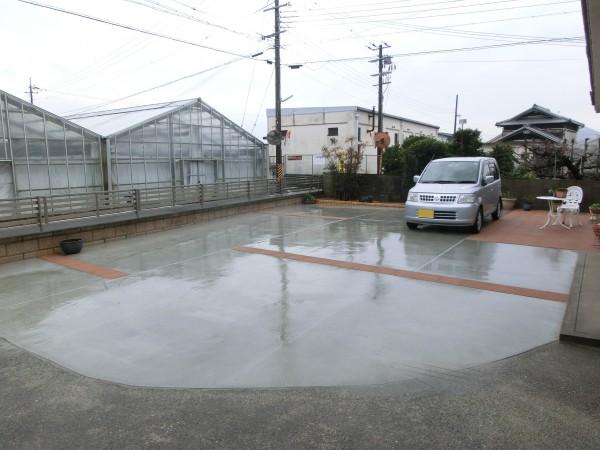 駐車スペース拡張工事 桃山町4