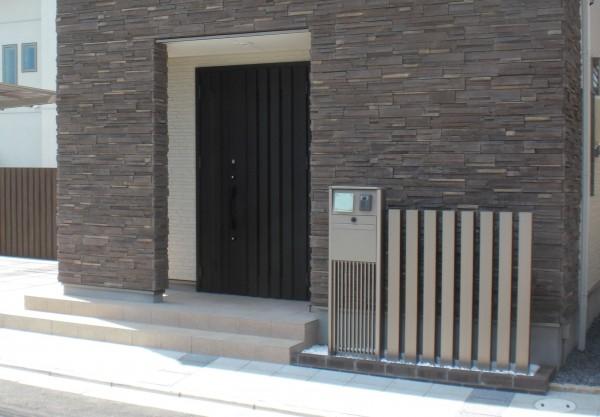 機能門柱・スクリーン 和歌山市1