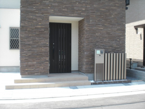 機能門柱・スクリーン 和歌山市4