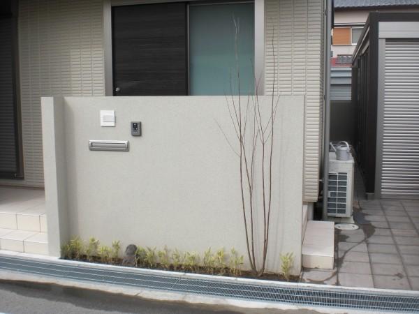 植栽 カツラ・笹 和歌山市1
