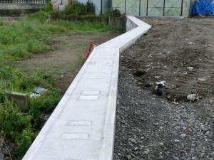 土留めブロック ウエイトⅡブロック 施工例8