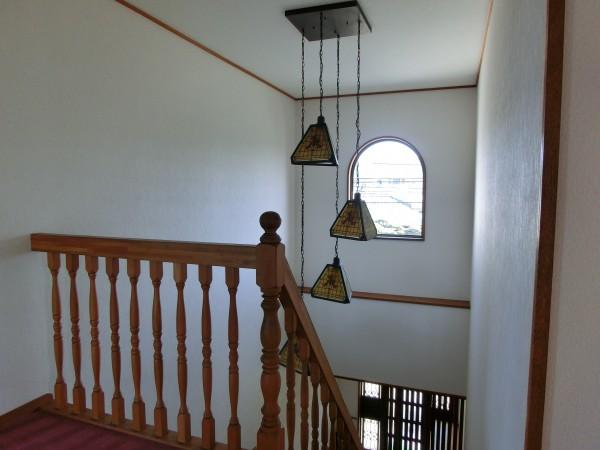 玄関ホール 吹抜改修工事4