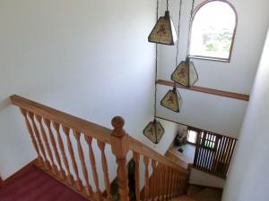 玄関ホール 吹抜改修工事3
