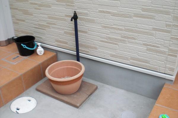 洗い場・立水栓 和歌山市4