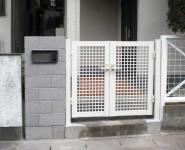 門柱・門扉改修工事 和歌山市