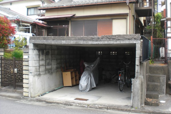 車庫改修工事 カーポート設置 和歌山市4