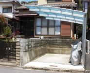 車庫改修工事 カーポート設置 和歌山市
