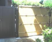 大和塀改修 竹垣・建仁寺垣設置 和歌山市