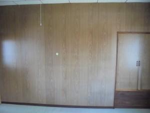 洋室リフォーム 飾り棚の取付け 和歌山市2