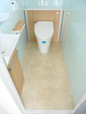 トイレ リフォーム工事 LIXIL リフォレI型 和歌山市3