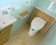トイレ リフォーム工事 LIXIL リフォレI型 和歌山市