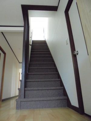 階段リフォーム カーペット張替え 和歌山市3
