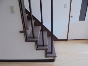 階段リフォーム カーペット張替え 和歌山市6