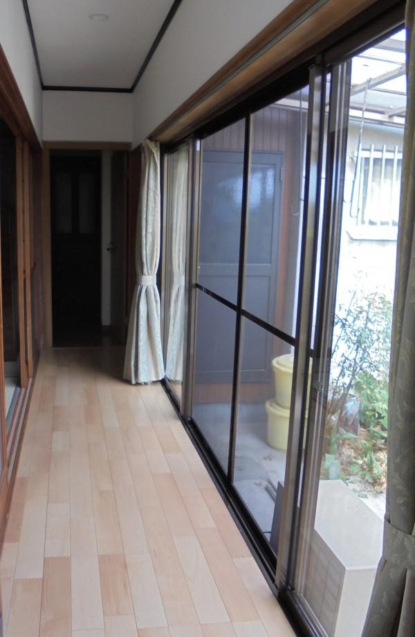 掃き出し窓リフォーム 和歌山市4