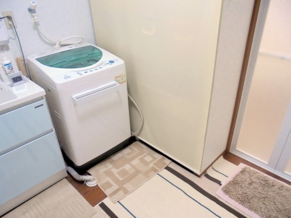 洗面脱衣所リフォーム ファミーユ タカラ 和歌山市4