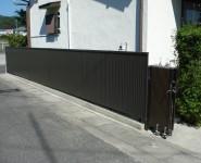 ブロック塀をフェンスに交換 軽量化 岩出市