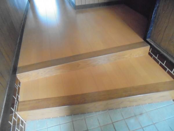玄関・廊下 床リフォーム工事 紀の川市1