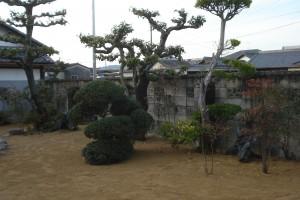 新築のため潰してしまった裏庭の改修 2