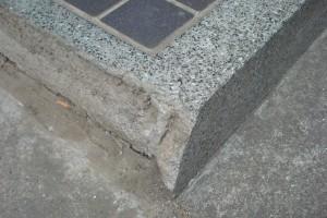 玄関ステップ 縁 補修工事9