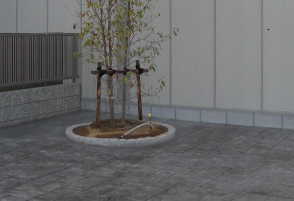 スタンプコンクリート おしゃれな土間コンクリート1