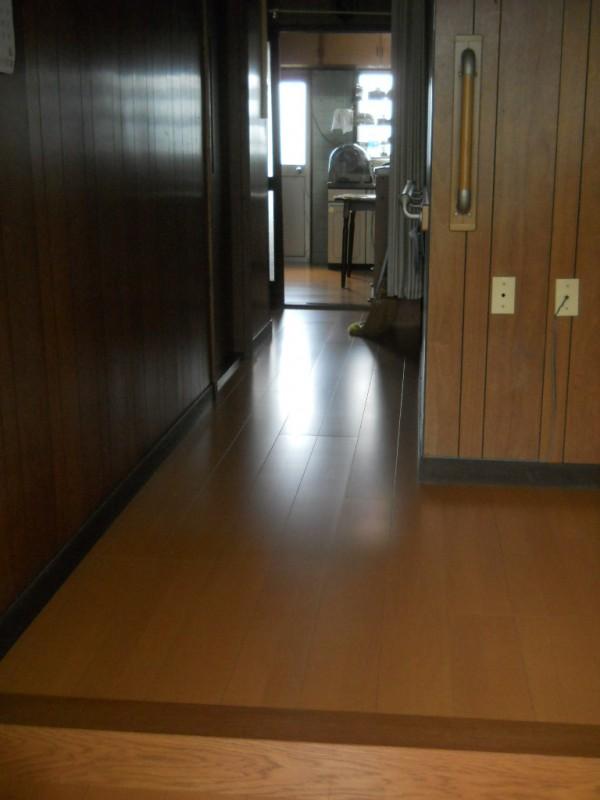 玄関・廊下 床リフォーム工事 紀の川市4