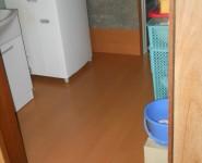 洗面所 床 リフォーム工事 紀の川市