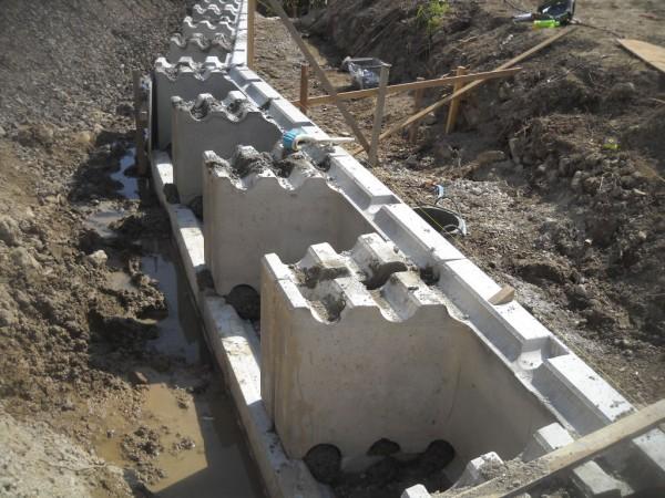 土留めブロック ウエイトⅡブロック 施工例4