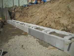 土留めブロック ウエイトⅡブロック 施工例3