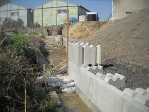 土留めブロック ウエイトⅡブロック 施工例6