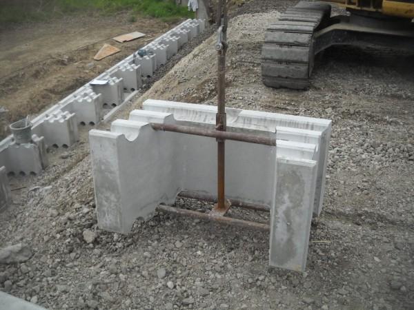 土留めブロック ウエイトⅡブロック 施工例7