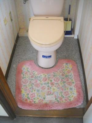 トイレ リフォーム工事 LIXIL リフォレI型 和歌山市2
